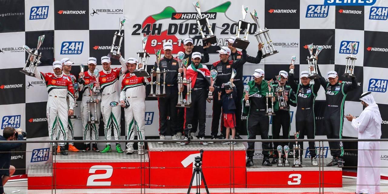 24H: Black Falcon Mercedes-AMG wins rain-shortened 15th Hankook 24H Dubai