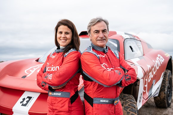 Electric: Carlos and Laia Sanz form new Extreme E entry as ACCIONA | Sainz XE Team