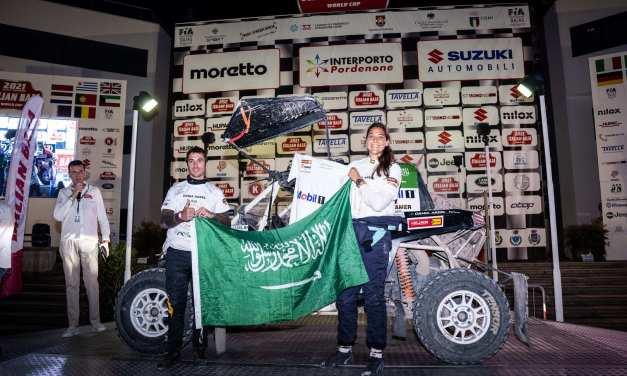 Baja: Saudi Arabia's Dania Akeel crowned FIA T3 Drivers' Champion