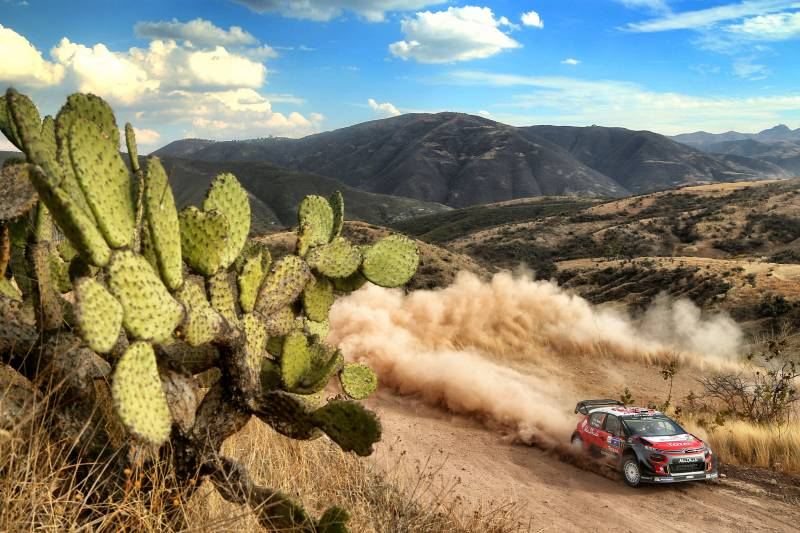 WRC: Rally Guanajuato Mexico – No time for a siesta as Citroen C3 WRC takes its first win