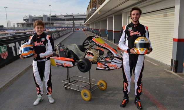 Dubai: Taymour Kermashaschi and Luke Varley begin their Rotax Max Euro campaign in France