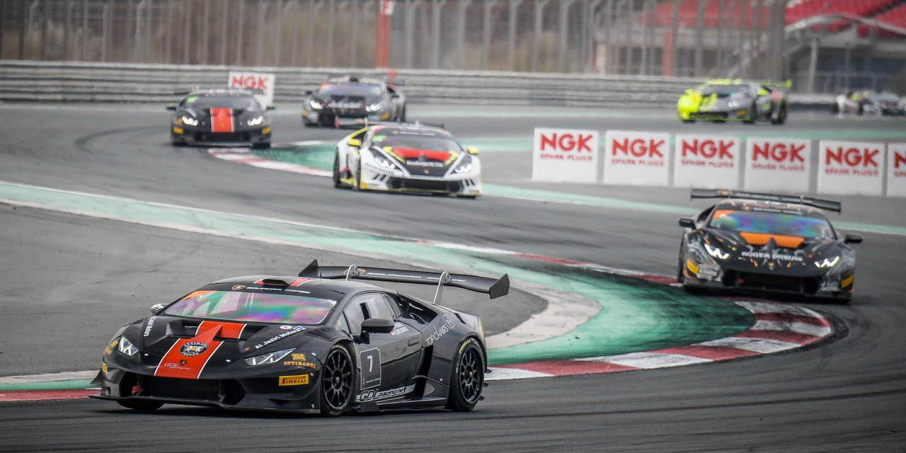Dubai: Breukers and Jefferies of GDL Racing crowned 2017 Champions of the Lamborghini Super Trofeo Middle East