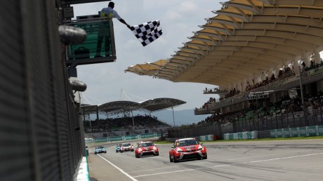 TCR International series in Sepang
