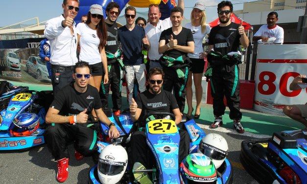 Dubai: Fernando Alonso stars in kart team at Kartdrome 24 Hours endurance race
