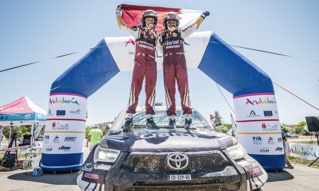Victory for Barreda and Al Attiyah in Andalucia Rally
