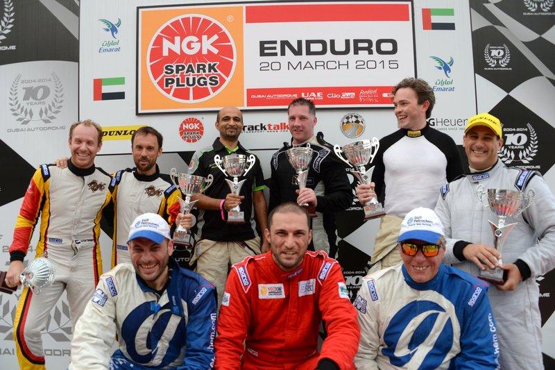 UAE: Dragon Racing Ferrari duo cruise to victory in NGK Enduro
