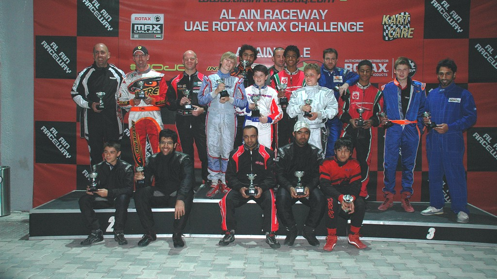 Karting: Al Dhaheri back in driving set in Rotax Max Championship