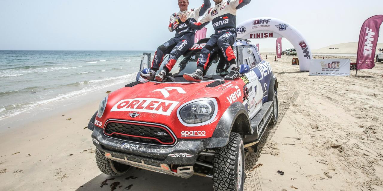 Rally: Przygonski seals famous victory in Qatar after late drama for Al Attiyah