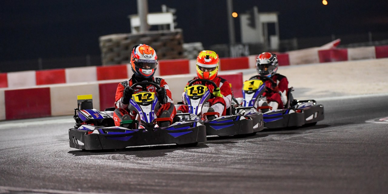Bahrain:Azzam and Al Mehairi steer Batelco to victory in endurance karting at BIKC