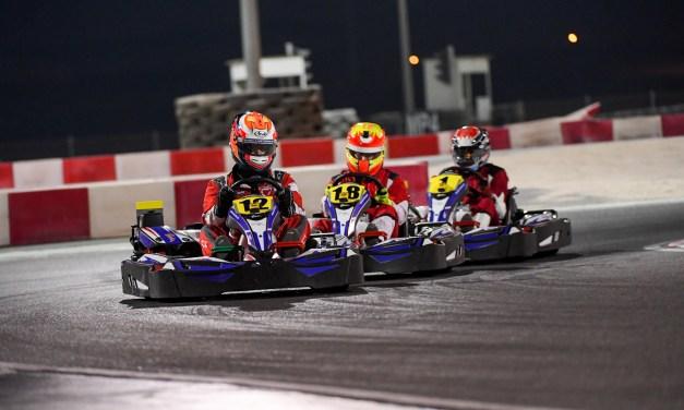 Bahrain:Azzam and Al Mehairi steer Batelco to victory in endurance karting at BIKC
