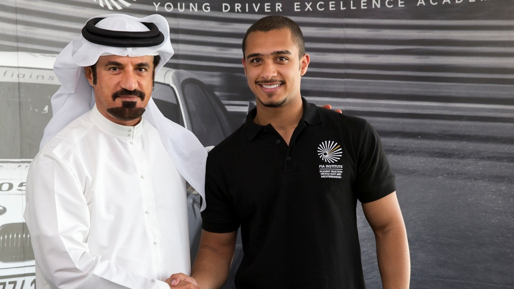 UAE: Saudi driver Abdullah Bamogaddam wins regional FIA Academy qualifier in Abu Dhabi