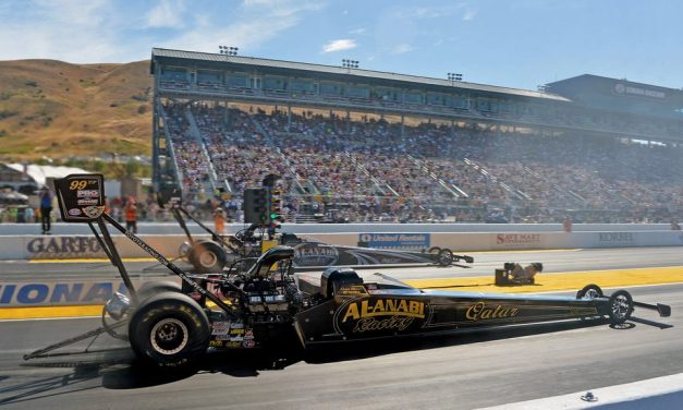Drag: Al Balooshi wins on his birthday at the NHRA Mello Yello Top Fuel Nationals in Sonoma