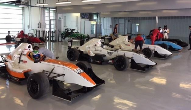 UAE: GulfSport drivers shine in Formula Gulf Academy pre season test at Yas Island