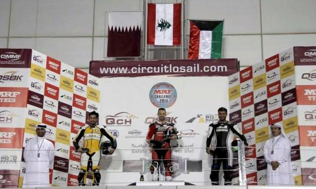 Dubai: First success of the season in Qatar for Tannir Moto Racing