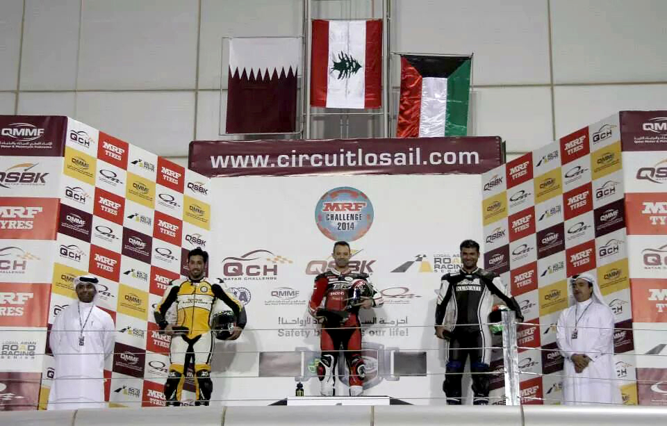 Dubai: First success of the season in Qatar for Tannir Moto Racing