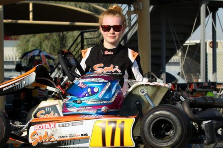Logan back in Dubai for some hot laps