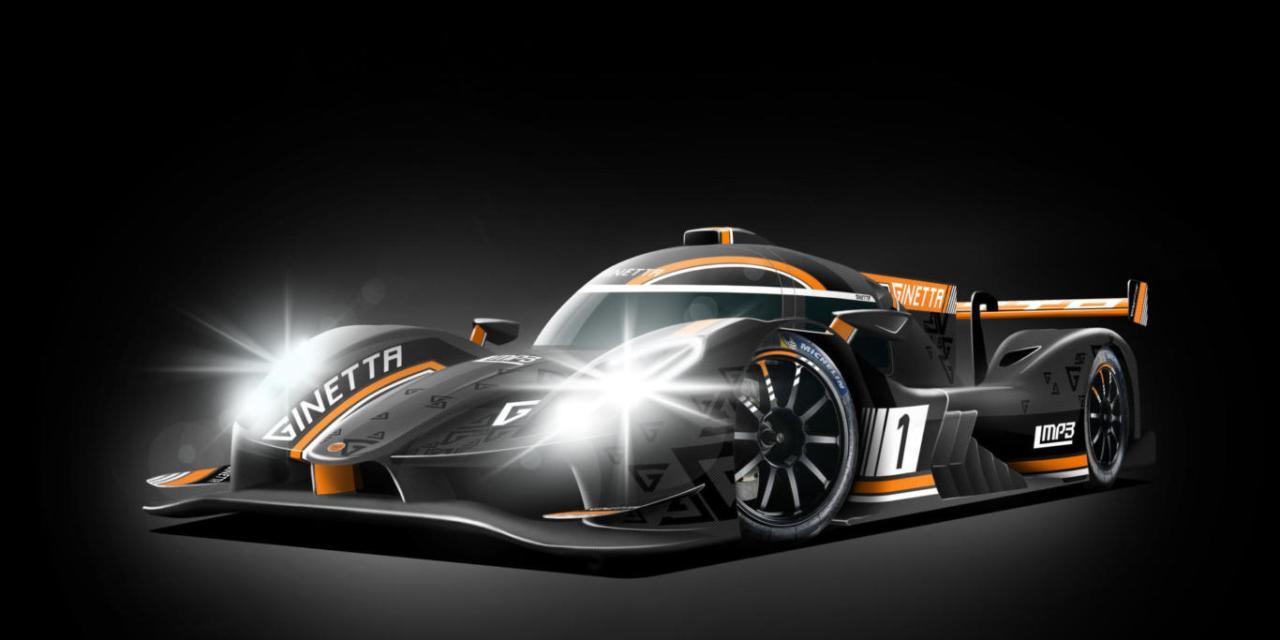 LMP3: Ginetta unveils its new second generation LMP3 Sports Prototype