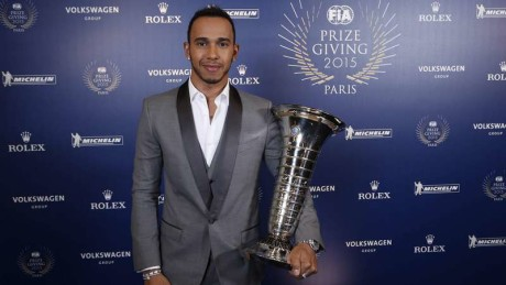 during the FIA Prize Giving 2015 on December 4th 2015, at Paris, France. Photo Jean Michel Le Meur / DPPI