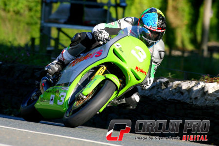 Martin Jessop pushed Rutter all the way but had to settle for second spot on the podium