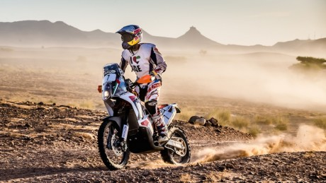 Emirati champion Mohammed Balooshi  was unable to compete on the last day of Oilibya Rally Morocco