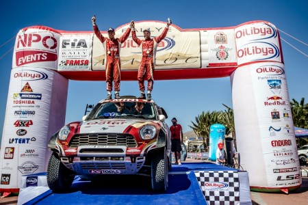 With nine of ten rounds contested, the driver from Qatar has got 261 points on his tally, Vasilyev follows 40 points behind with 221. And in the Baja Portalegre, the final round of the FIA World Cup, the winner will be awarded just 30 points