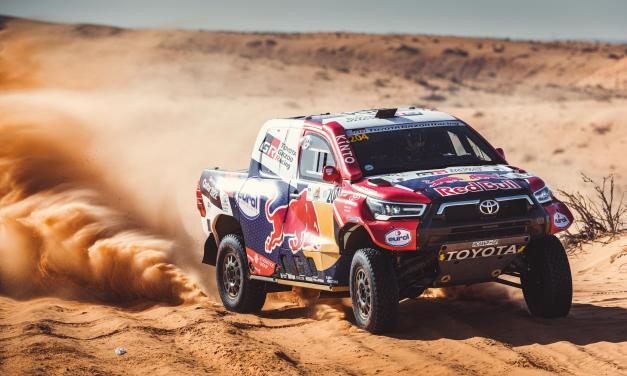Baja: Al Attiyah fends off fierce Mini attack to clinch victory as Van Beveren claims bikes win at Hail Baja round one