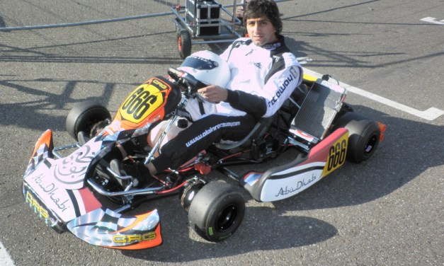 Karting: Al Dhaheri gains valuable experience at European Max Challenge Championship in Belgium