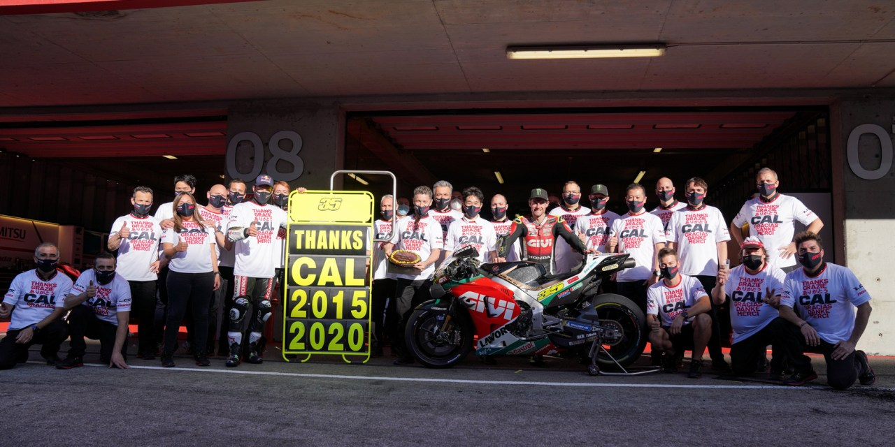 MotoGP: LCR Honda squad gives emotional farewell to Cal Crutchlow