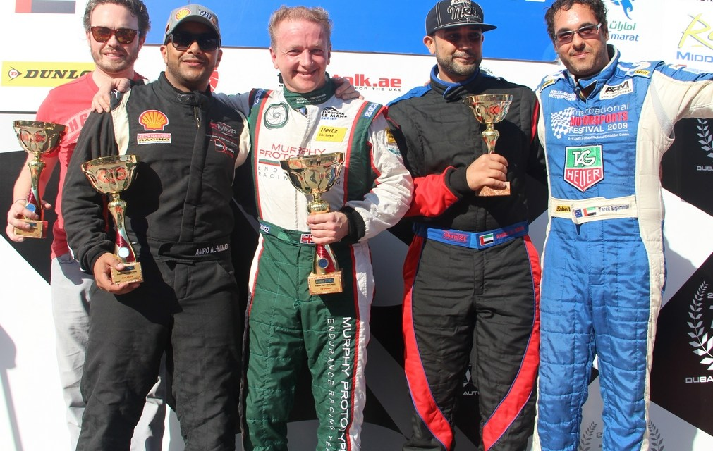 Dubai: Tony Wells wins opening race at Dubai in the Radical Middle East Cup