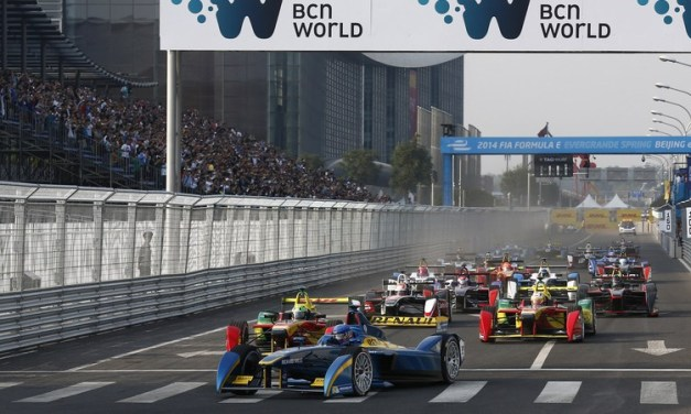 Formula E: Lucas di Grassi snatches surprise win after last lap crash in Beijing