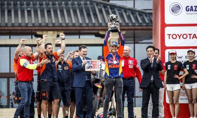 Rally: KTM rider Sam Sunderland wins the inaugural Silk Way Rally – Sonik on top in quads