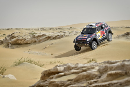 Sealine Rally front-runner Nasser Saleh Al-Attiyah