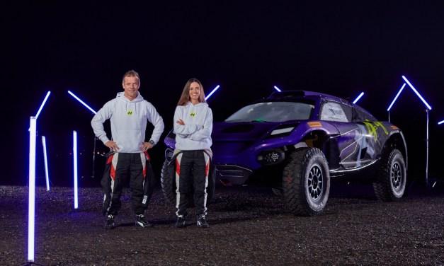 Sébastien Loeb and Cristina Gutiérrez set to race in Lewis Hamilton's Extreme E team X44