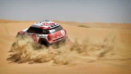 Sheikh Khalid Al-Qassimi heads for a duel at the Abu Dhabi Desert Challenge next week