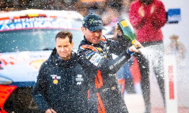 WRC: Monte-Carlo success for Thierry Neuville & Hyundai