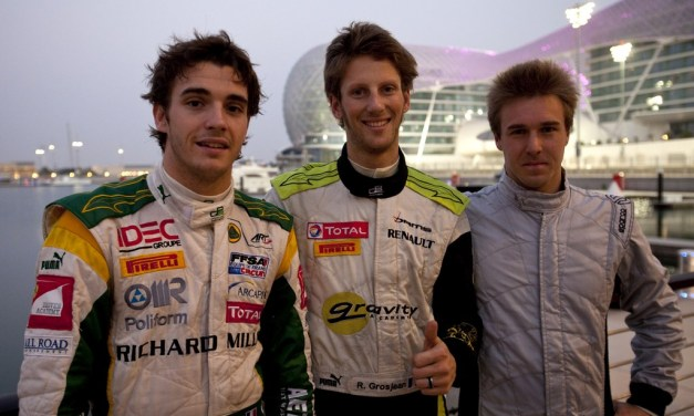 GP2 Asia: Romain Grosjean in pole position for opening race of GP2 Asia season
