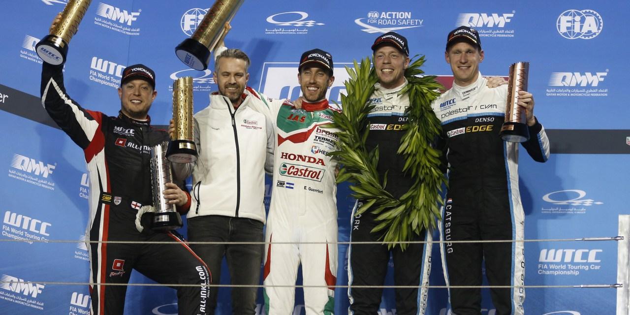 Qatar: Bjork claims WTCC Championship title in Qatar
