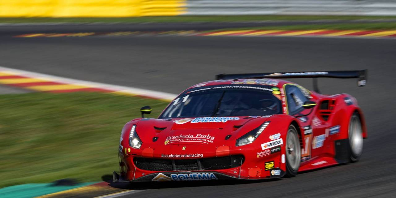 12H: Scuderia Praha Ferrari 488 GT3 seals victory, PROsport Performance AMG GT3 takes the 2018 GT Euro title