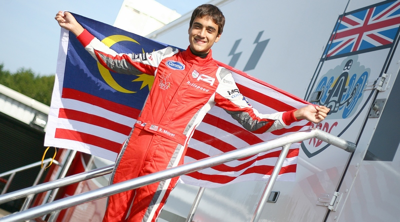 Malaysian teenager Rahul Mayer selected for young driver McLaren Performance Academy