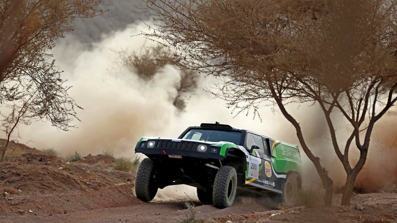 Rally: Al Rajhi and Gottschalk duo cruise to record fifth victory in Ha'il Rally