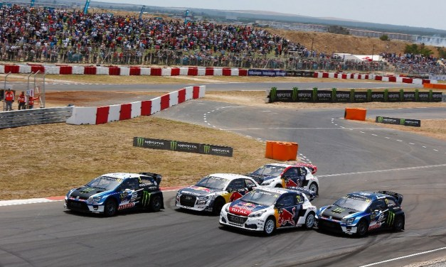RallyCross: 2017 Champ Kristoffersson wins inaugural Wolrd RX event in Africa