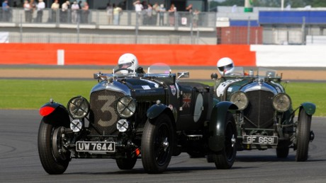 The Classic will have at least nine, including the 4½-litre Le Mans of vintage Bentley guru Stanley Mann (leading above) plus a pair of 3-litre machines dating back to 1924 – currently the oldest on the near-capacity entry....