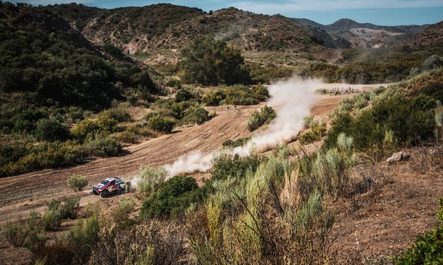 Rally: Stage 2 Wins for Yamaha's Ross Branch and Toyota Gazoo Nasser Al Attiyah in Andalucía Rally