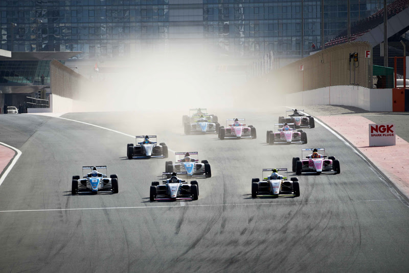 Dubai: Matteo Nannini and Excel Motorsport crowned F4 UAE Champions for 2019