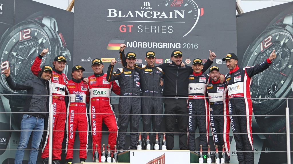 GT: McLaren crowned Blancpain GT Endurance Cup Champions in last lap thriller