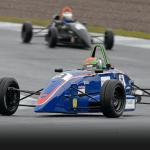 Formula: Logan Hannah becomes first female winner of Scottish Formula Ford 1600 race and David Leslie Trophy