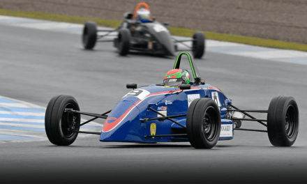 Formula: Logan Hannah becomes first female winner of Scottish Formula Ford 1600 race and David Leslie Trophy