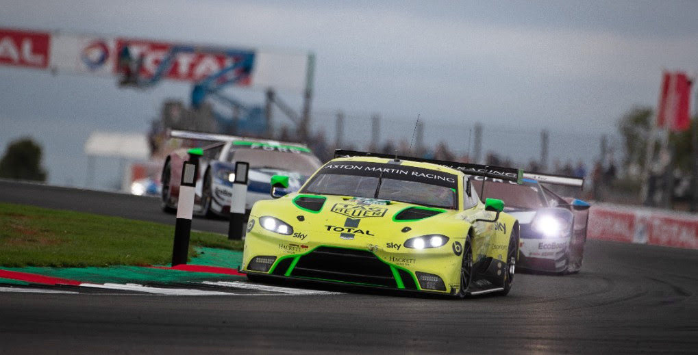 WEC: Podium joy at home event as new Aston Martin Vantage makes progress