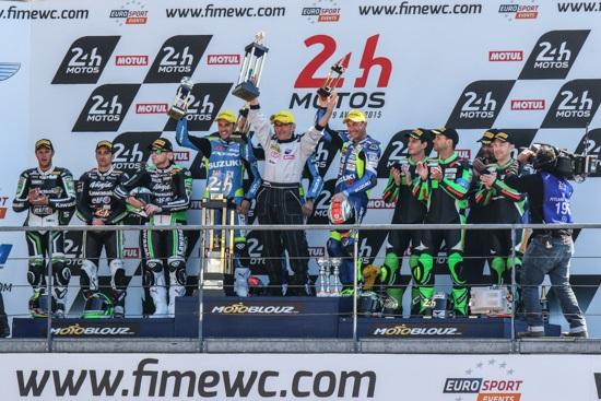 24hr: Suzuki scoop two class wins in FIM Endurance World Championship opener at Le Mans