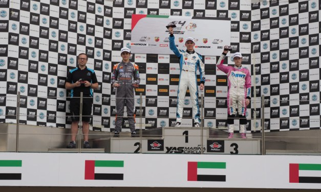 Dubai: Nannini extends F4 UAE Championship lead at penultimate round in Abu Dhabi
